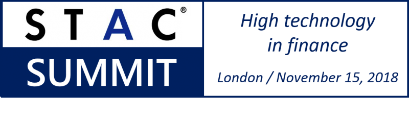 STAC Summit, 15 Nov 2018, London   STAC - Insight for the